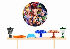 Kit Decoração de Festa Luxo -Toy Story- Frete Grátis