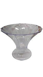 Taça Diamante Transparente Com Base transparente- 2,5L