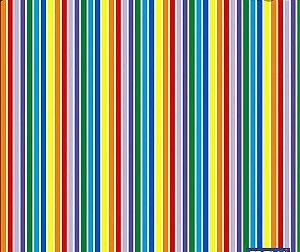 Tnt estampado - listras coloridas - 1 m