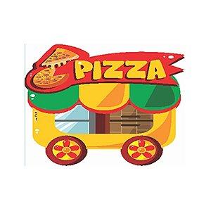 Painel Carrinho Pizza festa junina