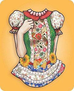 Painel para Fotos Junina -Vestido