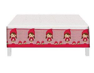 Toalha de Mesa Plástica - Chapeuzinho Vermelho
