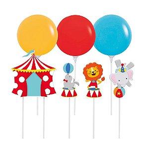 Kit Topo de Balão - Festa Circo