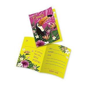 Convite - tropical - 08 unidades
