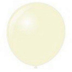 Balão Látex - 9 Polegadas - Cristal - 50 unidades