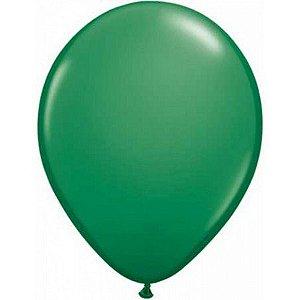 Balão Látex - 9 Polegadas - Verde - 50 unidades