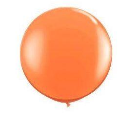 Balão Látex Big Balão - Laranja