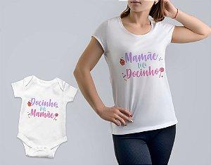 Kit 12 Dia das Mães - Camisa + Body