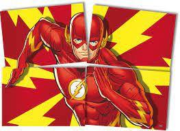 Painel de Parede 4 Folhas Gigante - Flash