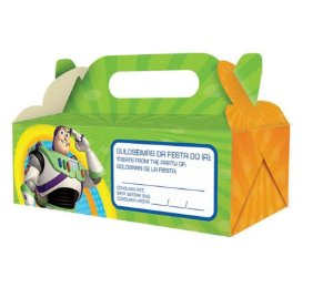 caixa para viagem - Toy story