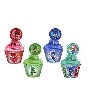 Cupcake wrapper - Pj Masks