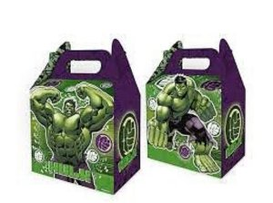 Caixa Surpresa - Hulk - 08 unidades