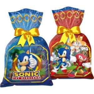 Sacola Plástica - Sonic