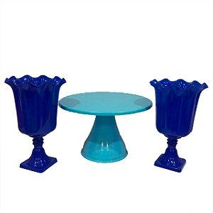 Kit Boleira - Azul grande - 3 unidades