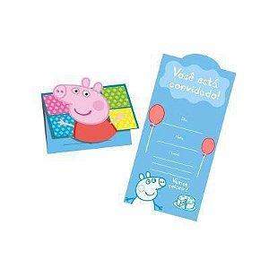 Convite - Peppa pig