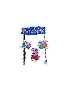 Topo de Bolo - Peppa pig