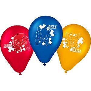 Balão Látex - 9 polegadas - Sonic - 25un.