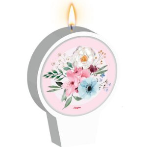Vela plana - Floral