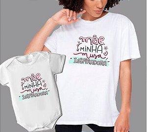 Kit 19 Dia das Mães - Camisa + Body