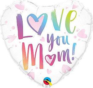 Balão metalizado - Love You Mom