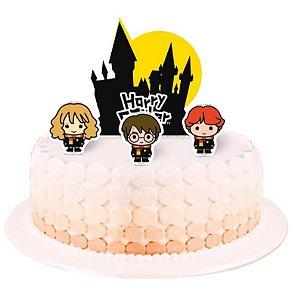 Topper para Bolo - Harry Potter Kids