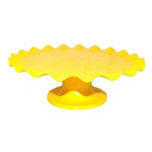 Boleira Ondulada - amarela - 26cm