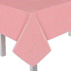 Toalha de mesa principal - rosa