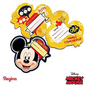 Convite - Mickey Mouse