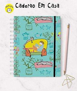 Caderno Em casa