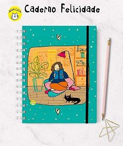 Caderno Felicidade