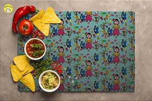 Jogo Americano Frida no jardim