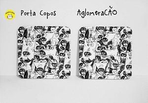 Conjunto de Porta Copos AglomeraCÃo