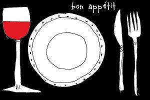 Jogo Americano Bon appétit