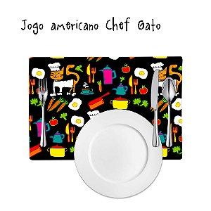 Jogo Americano Chef Gato