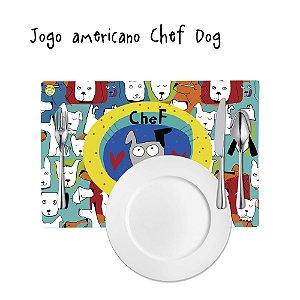 Jogo Americano Chef Dog