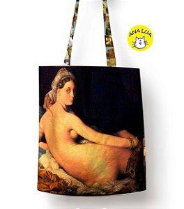 Sacola Arte - A grande odalisca de Ingres