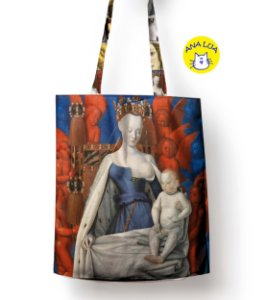 Sacola Arte - A Virgem, Fouquet
