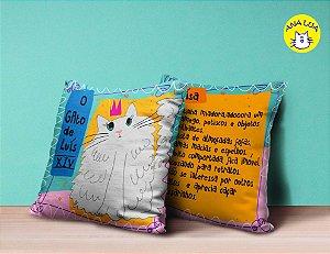 Capa de Almofada Gatinhos Fantásticos - O gato de Luís VIX