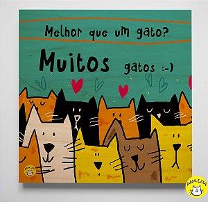 Quadrinho Muitos Gatos!!!!