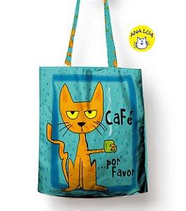 Sacola Gato e CAfé