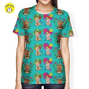 Blusa Pit com flores