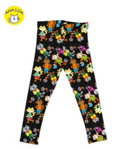 Legging Infantil Cat City