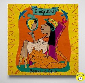 Plaquinha Cleópatra toda poderosa