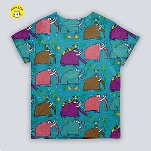 Blusinha infantil Mamutes