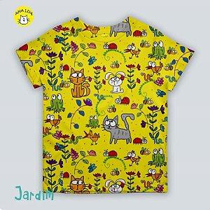 Blusinha infantil Jardim