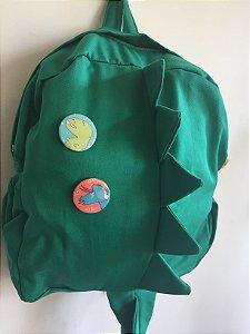 Mochila infantil Dino Verde