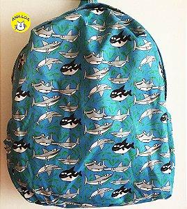 Mochila Tubarões