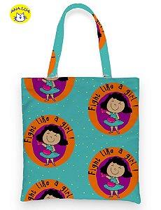 Book  Bag  Fight like a girl