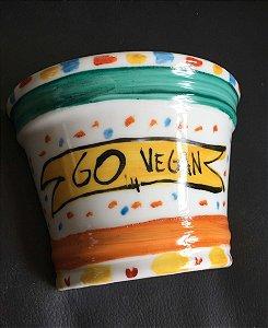 Vasinho de parede Go Vegan