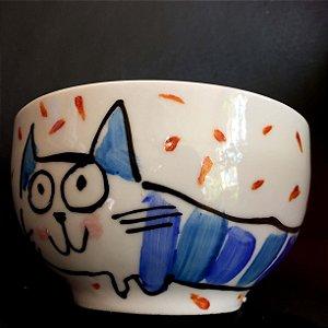 Bowl Gato Azul